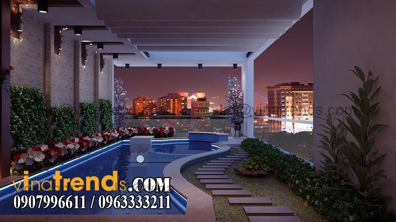 ho boia Thiết kế nhà phố đẹp cho diện tích 5x18m nhà anh Phước ở Tân Phú   NP091213A
