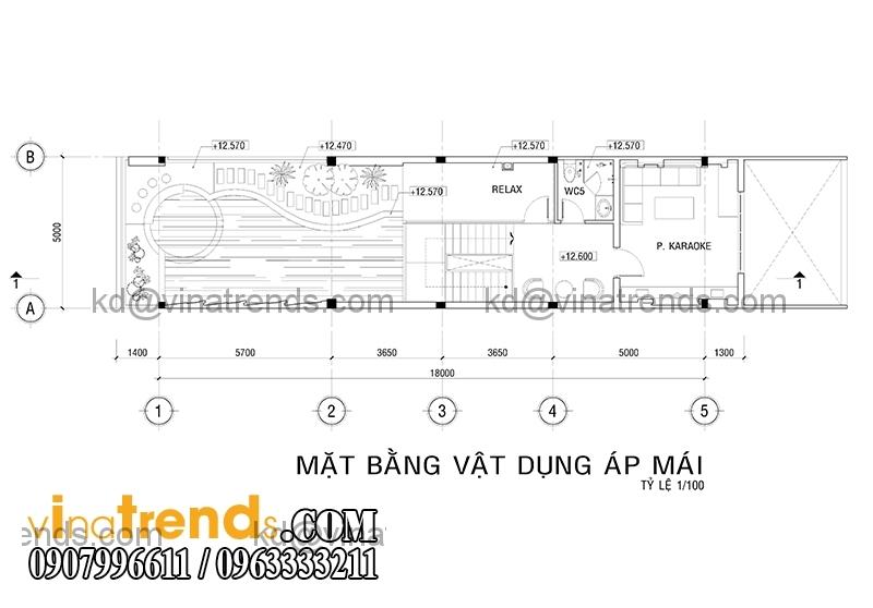 mb 1 1 Thiết kế nhà phố đẹp cho diện tích 5x18m nhà anh Phước ở Tân Phú   NP091213A