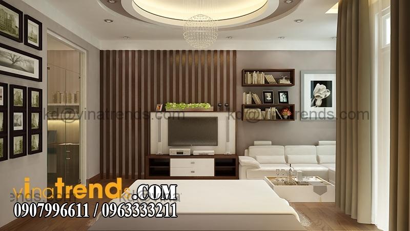 phong ngu1D Thiết kế nhà phố đẹp cho diện tích 5x18m nhà anh Phước ở Tân Phú   NP091213A