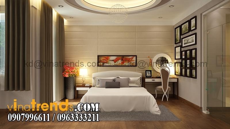 phong ngu1a Mẫu thiết kế nhà phố đẹp mặt tiền 4x15,5m cho gia đình trẻ anh Giáp Đồng Nai   NP220216A