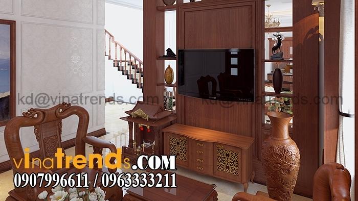 PHONG KHACH BEP Mẫu biệt thự 3 tầng đẹp 12x30m sang trọng tinh tế của anh Hoan Đồng Nai BT310316A