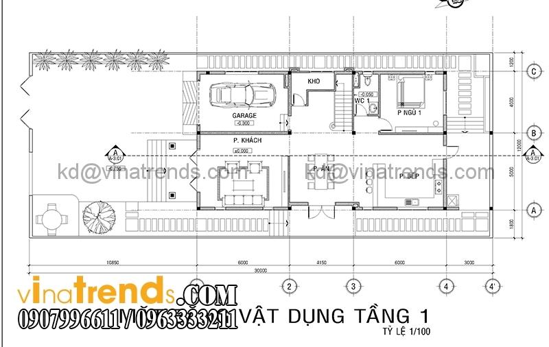 mb biet thu 3 tang co dien co san vuon 2 Thiết kế biệt thự vườn 360m2 3 tầng tân cổ điển mới lạ BTV270814A
