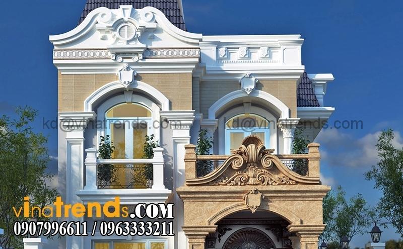 0k 4 Copy Khám phá mẫu biệt thự đẹp tân cổ điển phong cách châu Âu   BTCD190814A