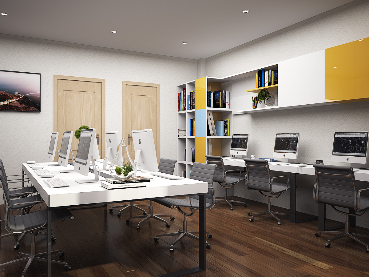 P LV 3 1 Thiết kế nội thất văn phòng đẹp theo xu hướng mới NTVP1008B