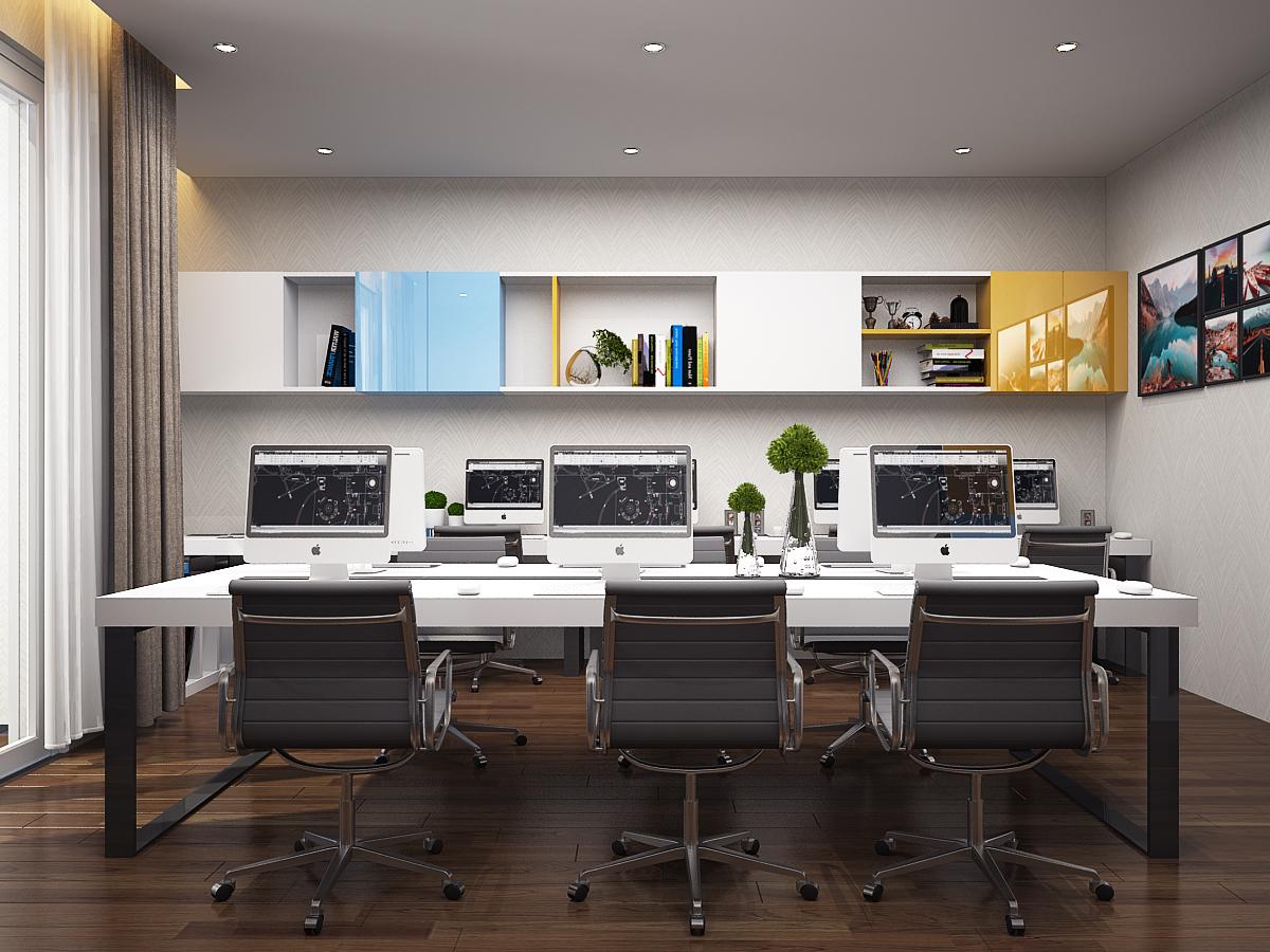 P LV 3 2 Thiết kế nội thất văn phòng đẹp theo xu hướng mới NTVP1008B