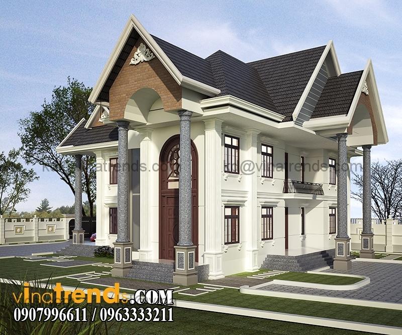 PC03 Thiết kế biệt thự vườn 1 tầng ngập tràn sắc xanh   BTV180714B