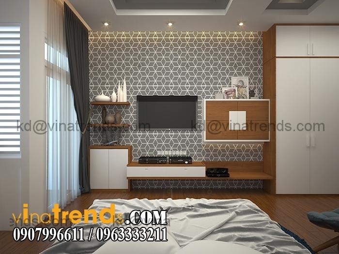 PHONG CON TRAI 1 Mẫu thiết kế nhà đẹp 4,5x18m 3 tầng mới hiện đại   ND260814A