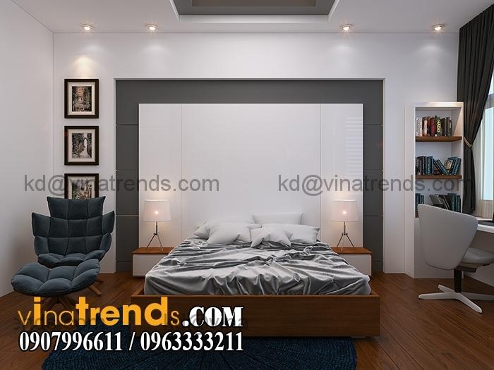 PHONG CON TRAI 4 Mẫu thiết kế nhà đẹp 4,5x18m 3 tầng mới hiện đại   ND260814A