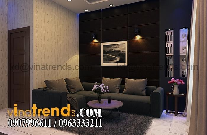 PHONG SHC Mẫu thiết kế nhà đẹp 4,5x18m 3 tầng mới hiện đại   ND260814A