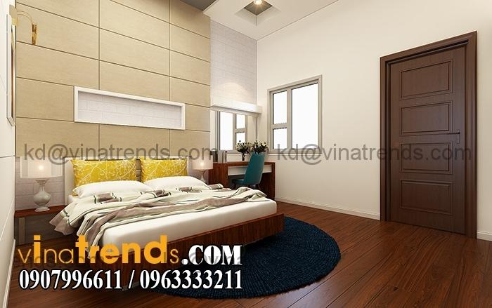 Phong con gai 1 Mẫu thiết kế nhà đẹp 4,5x18m 3 tầng mới hiện đại   ND260814A