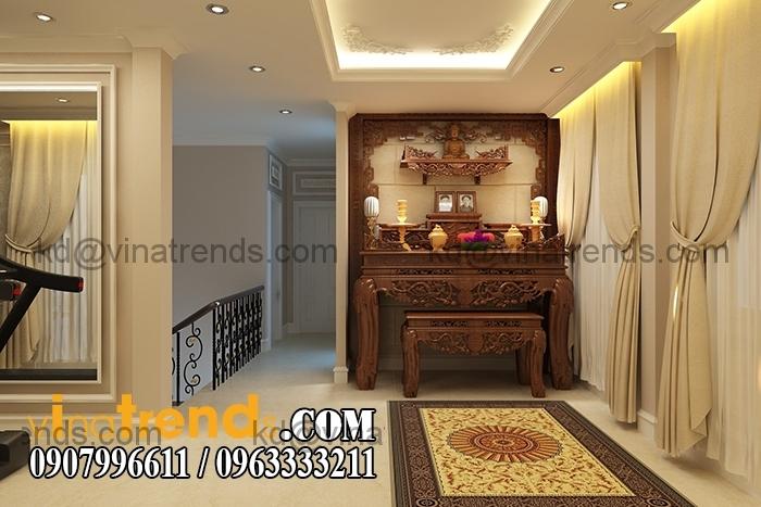 Phong tho 1 Mẫu thiết kế nhà đẹp 4,5x18m 3 tầng mới hiện đại   ND260814A