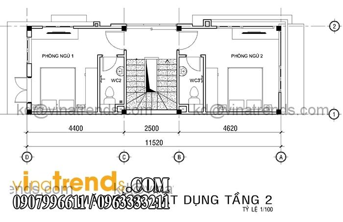 ban ve mat bang mau nha ong dep 4 tang dien tich mat tien 4m hien dai 4 Mới lạ mẫu thiết kế nhà đẹp 4x12m cổ điển theo phong thủy   ND180814A
