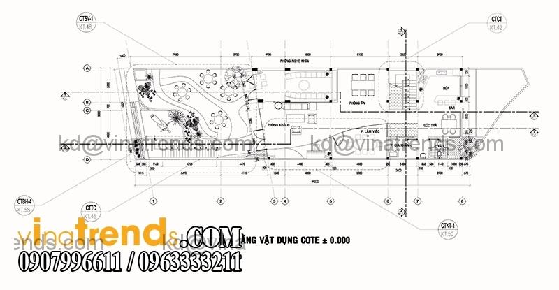 biet thu 2 tang hien dai 135m2 4 Độc đáo mẫu thiết kế biệt thự mini 2,5 tầng 8x17m nức tiếng Saigon   BTMN040814A
