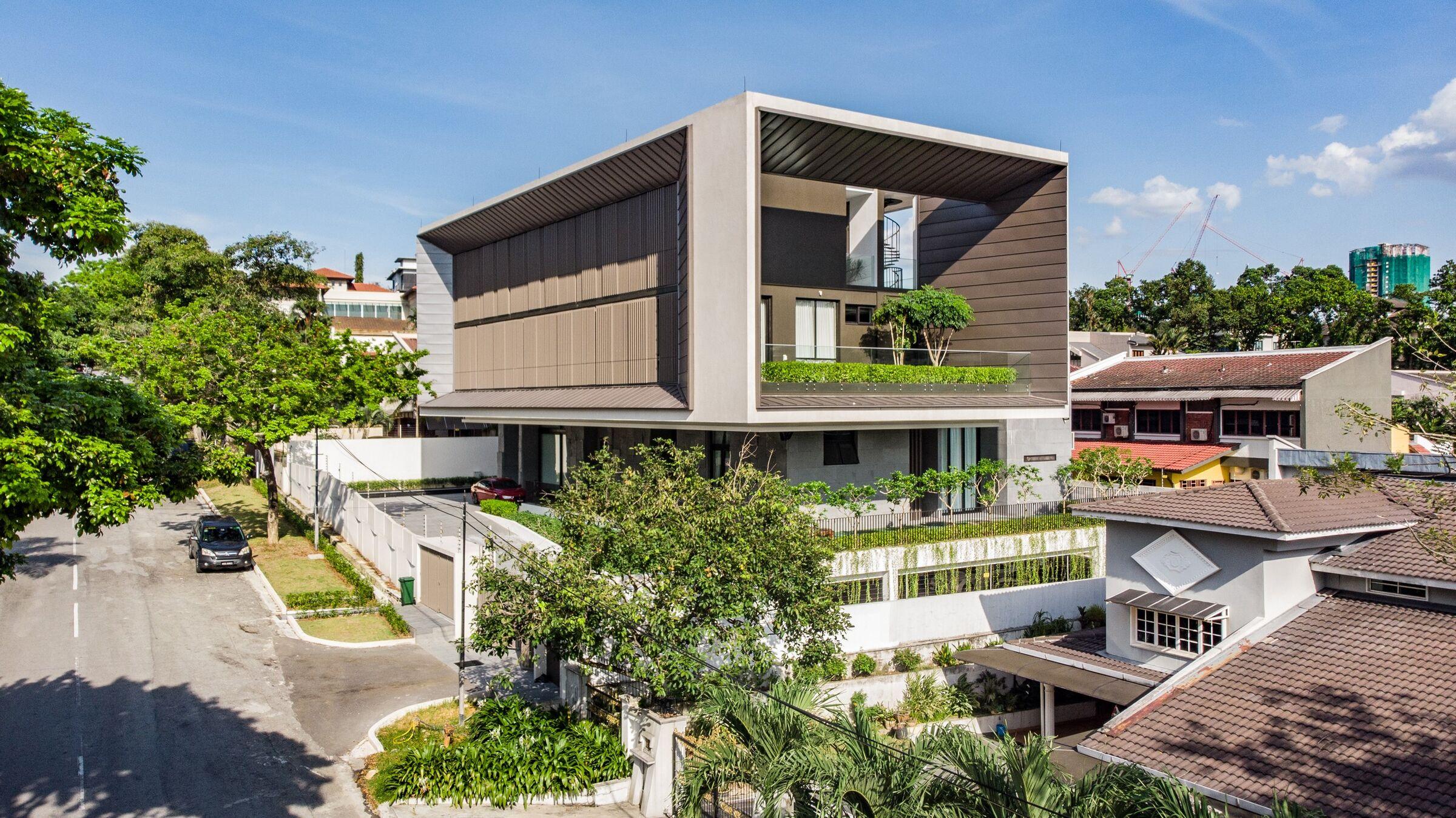 mau biet thu hien dai thoang dang Mẫu kiến trúc nhà đẹp xu hướng 3   5 năm tới