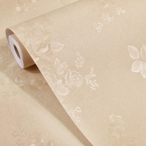mau giay dan tuong hoa van Công dụng của giấy dán tường Hàn Quốc cho nhà đẹp   GDT120814A