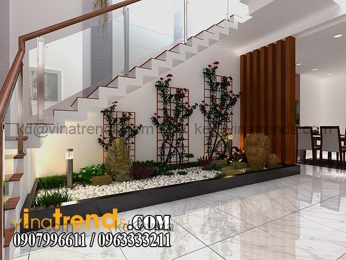 tieu canh Mẫu thiết kế nhà đẹp 4,5x18m 3 tầng mới hiện đại   ND260814A