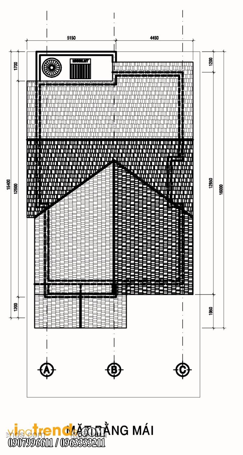 mat bang biet thu 2 tang 140m2 (1)