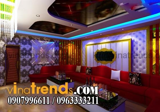 mau phong hat karaoke vip dep nhat Xu hướng thiết kế phòng hát karaoke đẹp phong cách mới 2015   PK200914A
