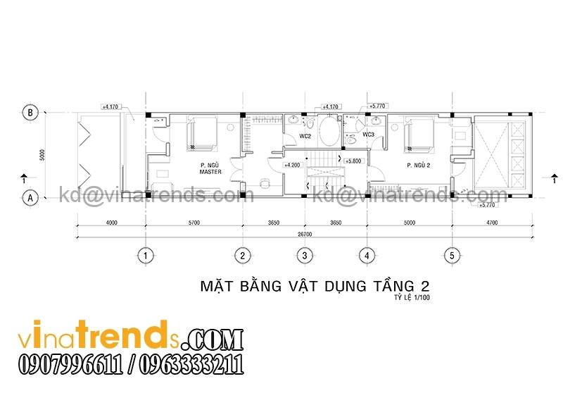 mb 3 2 Thiết kế nhà ống đẹp 4 tầng 5x18m  có hồ bơi trên sân thượng   NO180914A