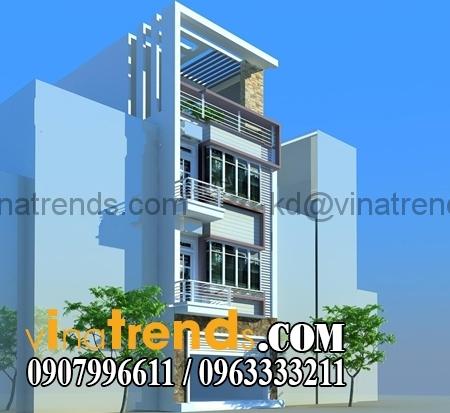 nha-pho-lech-tang-4m x 11m dep