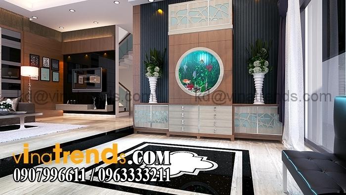 0 Phong khach 6 Thiết kế biệt thự 3 tầng 10x20m đẹp phong cách châu âu   BT290715A