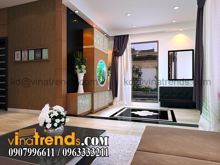 0 Phong khach 7 Thiết kế biệt thự 3 tầng 10x20m đẹp phong cách châu âu   BT290715A