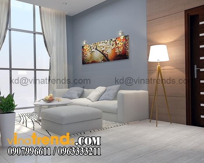 Phong sinh hoat 2 Thiết kế biệt thự 3 tầng 10x20m đẹp phong cách châu âu   BT290715A