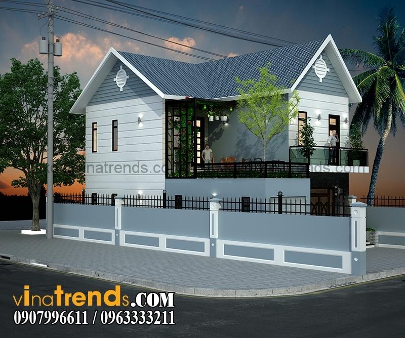 biet thu pho 2 tang 98m (1)