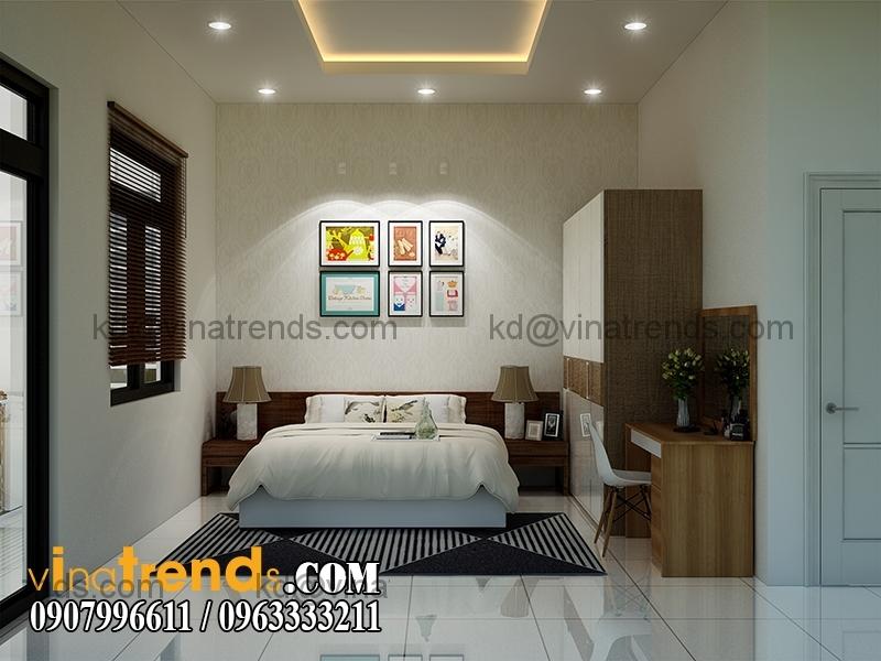 thiet ke noi that mau nha pho dep 3 tang dien tich 5x167m 4 Thiết kế nhà phố hiện đại 5x16,7m 3 tầng đẹp đánh thức mọi giác quan   NP070715C