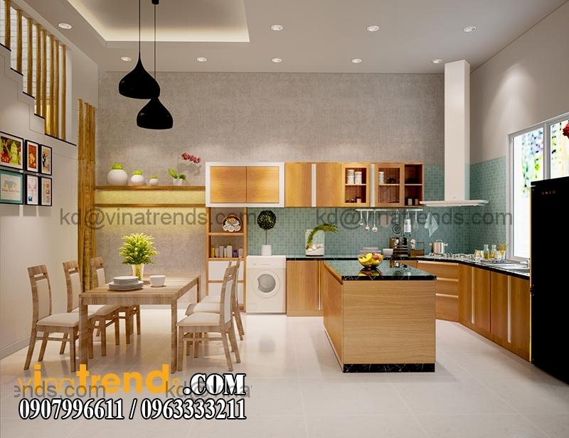 thiet ke noi that mau nha pho dep 3 tang dien tich 5x167m 6 Thiết kế nhà phố hiện đại 5x16,7m 3 tầng đẹp đánh thức mọi giác quan   NP070715C