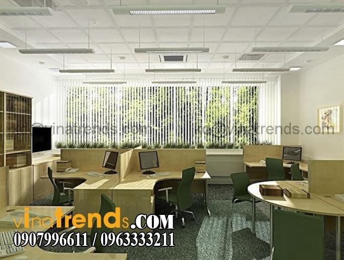 ban lam viec3 Tư vấn thiết kế nội thất văn phòng đẹp và chất lượng   NTVP280815A