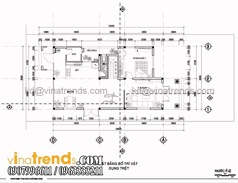 biet thu 2 tang 8x16m 1 Mẫu nhà vườn 2 tầng đẹp 135m2 anh Dũng Đồng Nai   BTNV190815A
