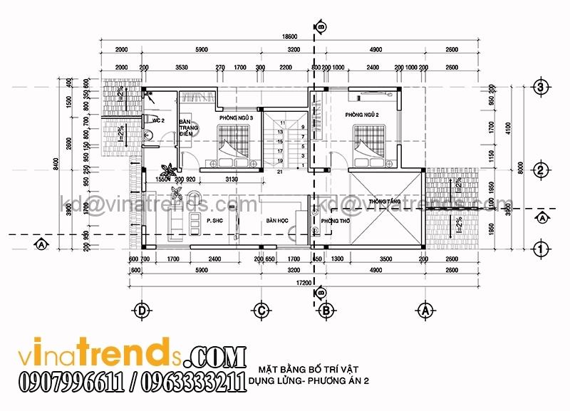 biet thu 2 tang 8x16m 2 Mẫu nhà vườn 2 tầng đẹp 135m2 anh Dũng Đồng Nai   BTNV190815A