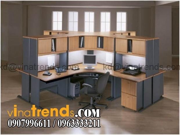 su dung chat lieu laminate trong thiet ke van phong 2 Tư vấn thiết kế nội thất văn phòng đẹp và chất lượng   NTVP280815A