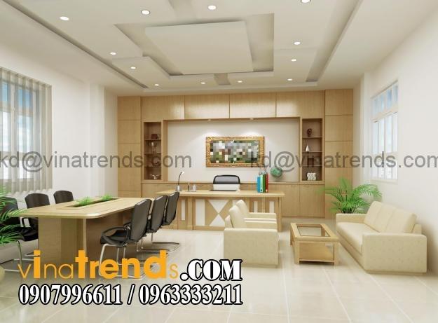 su dung chat lieu laminate trong thiet ke van phong 4 Tư vấn thiết kế nội thất văn phòng đẹp và chất lượng   NTVP280815A