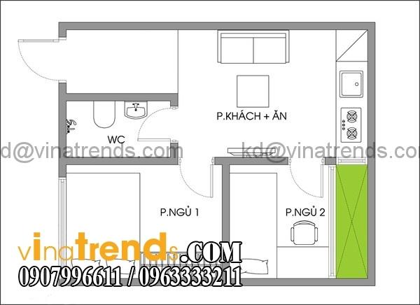 a1 Thiết kế nhà đẹp diện tích nhỏ 30m2 xu hướng mới nhất 2016   NC4250915A
