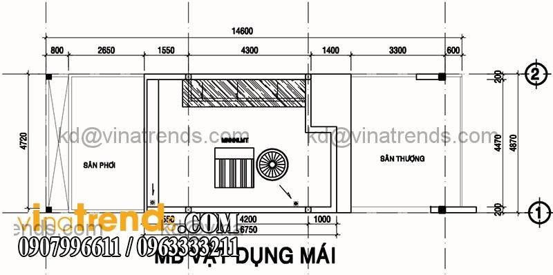 ban ve mat bang mau nha pho dep dien tich 487x14m 1 Độc lạ mẫu thiết kế nhà phố hiện đại 3 tầng : 4,87x14m cực sáng tạo   NP030915A