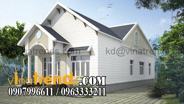 mau nha cap 4 mai ngoi 7x20m dep1 Mẫu thiết kế nhà cấp 4 đẹp 7x20m mái thái xu hướng 2016 anh Huy Đồng Nai   NC4201015