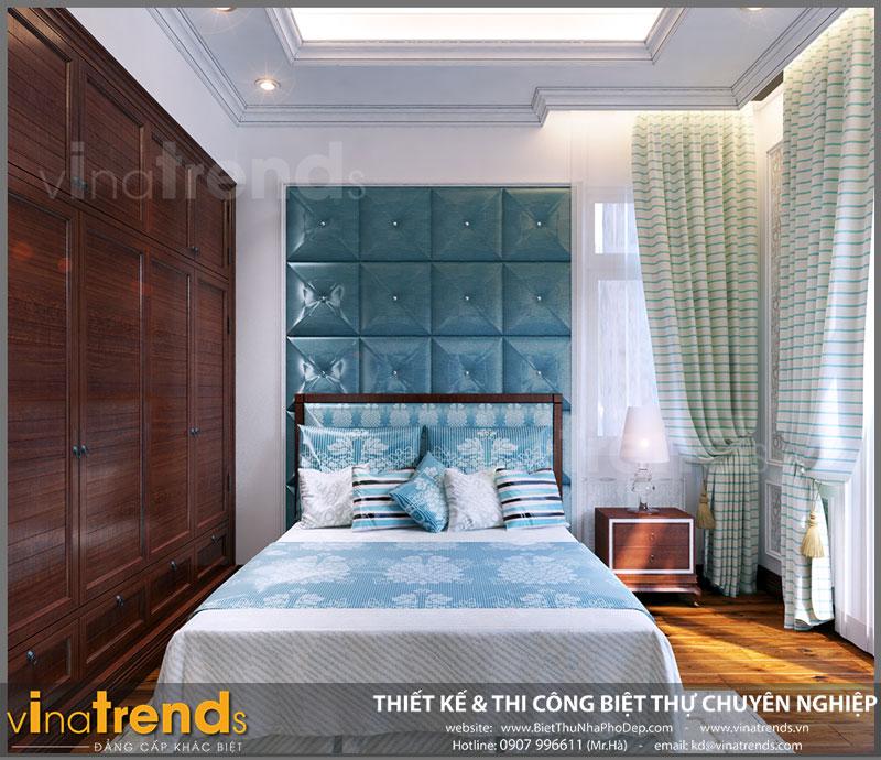 thiet ke phong ngu con gai Ngắm nhìn mẫu thiết kế nhà đẹp 133m2 của gia đình 3 thế hệ anh Bằng Bình Dương   ND051015A