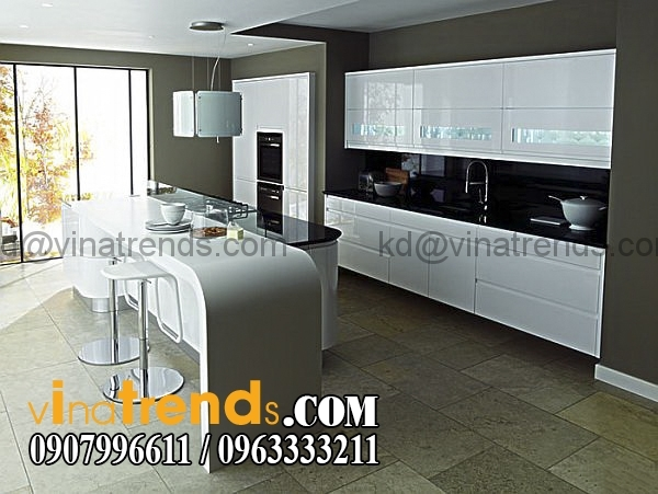 thietke noithat mau bep dep 11 20 mẫu thiết kế nội thất bếp hiện đại xu hướng mới nhất 2016   NTNB161015A