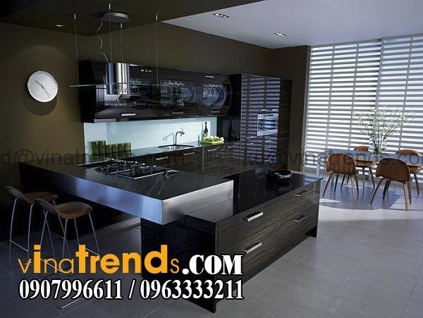 thietke noithat mau bep dep 20 mẫu thiết kế nội thất bếp hiện đại xu hướng mới nhất 2016   NTNB161015A