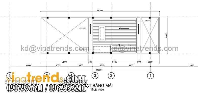 ban ve mau nha pho dep 3 tang dien tich mat tien ngang 5m hien dai 1 Chiêm ngưỡng mẫu thiết kế nhà phố xinh xắn 5x16,7m anh Dương Đồng Nai   NP071115A