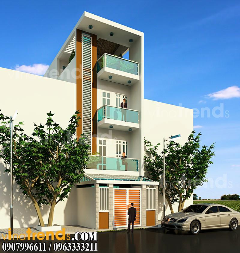 0 1 Mẫu thiết kế nhà phố 4,5x16m đẹp vi diệu anh Toàn quận 2   NP241215A