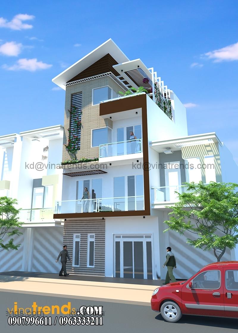 thiet ke nha o 3 tang dep 6x6m 4 Chia sẻ mẫu thiết kế nhà ở gia đình 3 tầng đẹp 6x6m chị Vũ Bình Thạnh lung linh sắc xuân   BT300116A