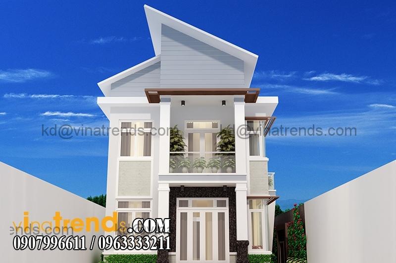 4 11 Mẫu thiết kế nhà phố đẹp mặt tiền 4x15,5m cho gia đình trẻ anh Giáp Đồng Nai   NP220216A