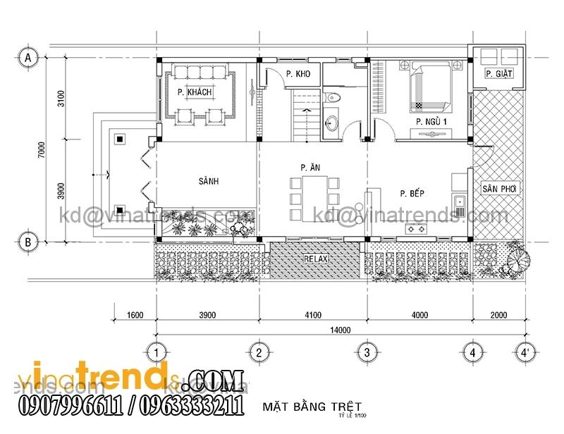 A THO THU DUC Model Mẫu thiết kế nhà phố đẹp mặt tiền 4x15,5m cho gia đình trẻ anh Giáp Đồng Nai   NP220216A