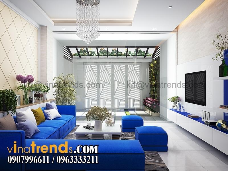 K1 Mẫu nhà phố đẹp 4 tầng 5x20m kiến trúc hiện đại anh Phương Bình Chánh   NP240216A