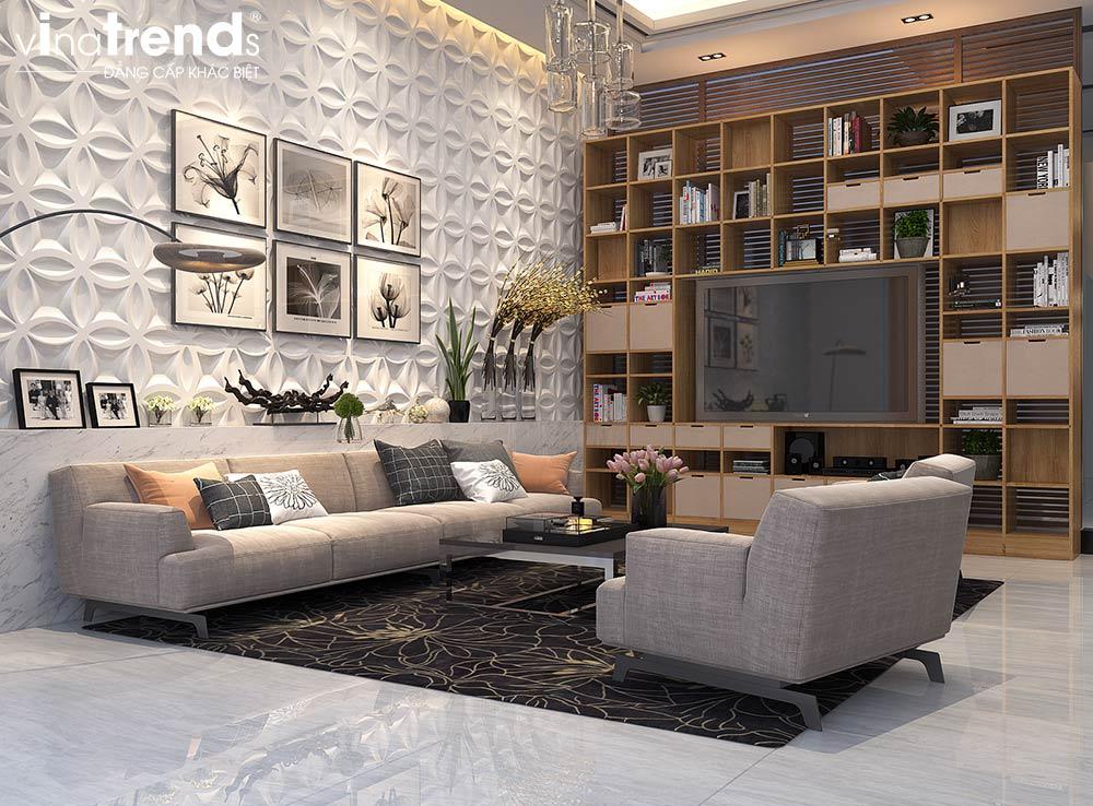 KHACHA Thiết kế nội thất cao cấp cho căn hộ nhỏ xinh   NT131213B