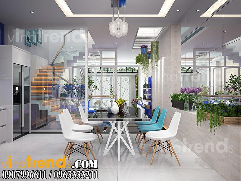 BEP 2 Mẫu nhà mặt phố đẹp 3 tầng 5x20m đẳng cấp Việt anh Phương Bình Chánh   NP040316A