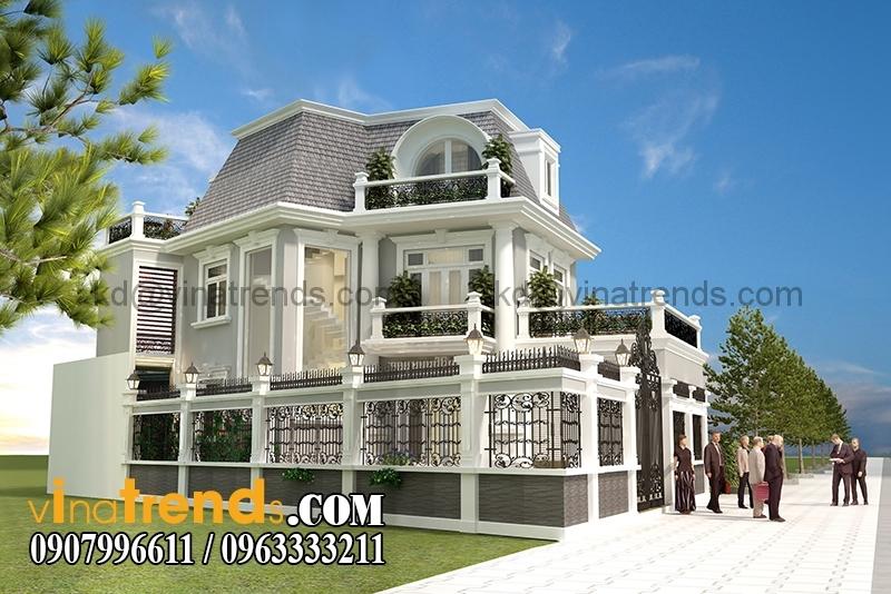 biet thu 3 tang tan co dien 7x16m 6 Biệt thự mini 2 tầng đẹp cho gia đình mẫu mực   BTMN230814A
